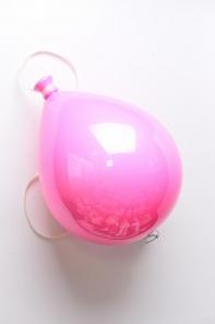 Шар 20 см (1штука), Форма воздушного шара, Цвет розовый