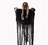 """Декорация для хеллоуина """"Скелет в черном"""""""