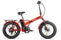 Велогибрид VOLTECO CYBER Красно-черный