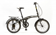 "20'' Велосипед HOGGER GOLDBUG (20"", HOGGER, 7-ск, складная рама, сталь, V-типа, (ЧЕРНЫЙ))"