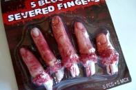 Пальцы отрубленные, на блистере 11* см.