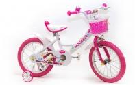 """16"""" Велосипед HOGGER рама: сталь , белый"""