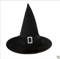 """Колпак """"Ведьма""""с пряжкой"""
