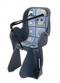 Кресло детское с креплением на багажник, накладка с рисунком, Тайвань. (Арт.:002)