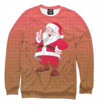 Мужской свитшот Дед мороз