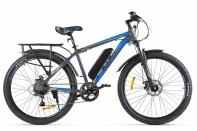 Велогибрид Eltreco XT 800 new Серо-синий