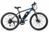 Велогибрид Eltreco XT 600 черно-синий
