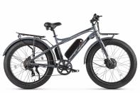Велогибрид VOLTECO BIGCAT DUAL NEW 2020 Серый