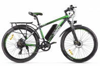 Велогибрид Eltreco XT 850 new Серо-зеленый