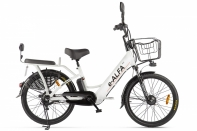 Велогибрид GREEN CITY e-ALFA new Белый