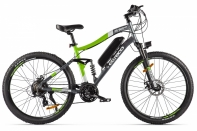 Велогибрид Eltreco FS900 new Серо-зеленый