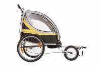 Велоприцеп для перевозки 2-ух детей VIC-1302 (BTA 19)