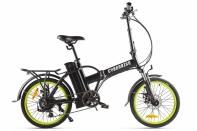 Велогибрид Cyberbike LINE Черно-зеленый