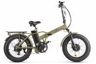 Велогибрид VOLTECO BAD DUAL NEW ХАКИ