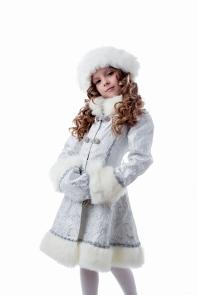 Снегурочка плюш белая