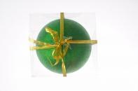 Рождественский шар 20 см, цвет зелёный