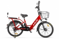 Велогибрид GREEN CITY e-ALFA new Красный