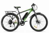 Велогибрид Eltreco XT 800 new Серо-зеленый