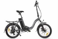Велогибрид Cyberbike FLEX Серо-черный