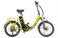 Велогибрид Eltreco Wave 350W yellow