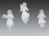 """Ангел """"Ледяная сказка"""", асс. из 3-х, 12 см"""