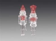Гвардеец прозрачно-красный, асс. из 2-х, 4х15 см