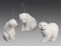 Медведь полярный, асс. из 3-х, 10-12 см